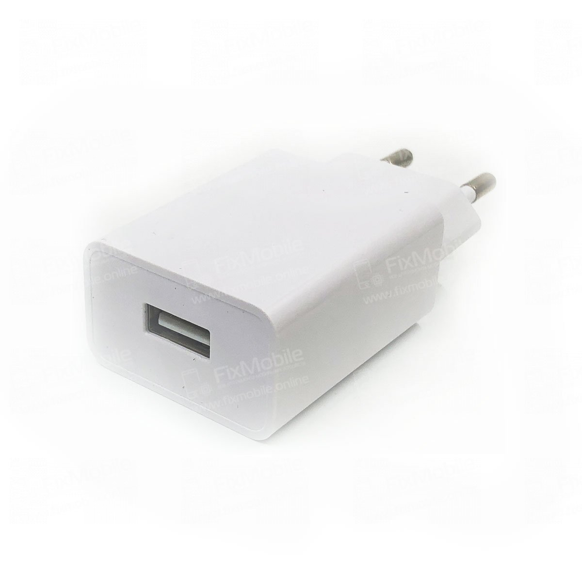 Универсальное зарядное устройство 220V-USB iPhone 1A (кубик)