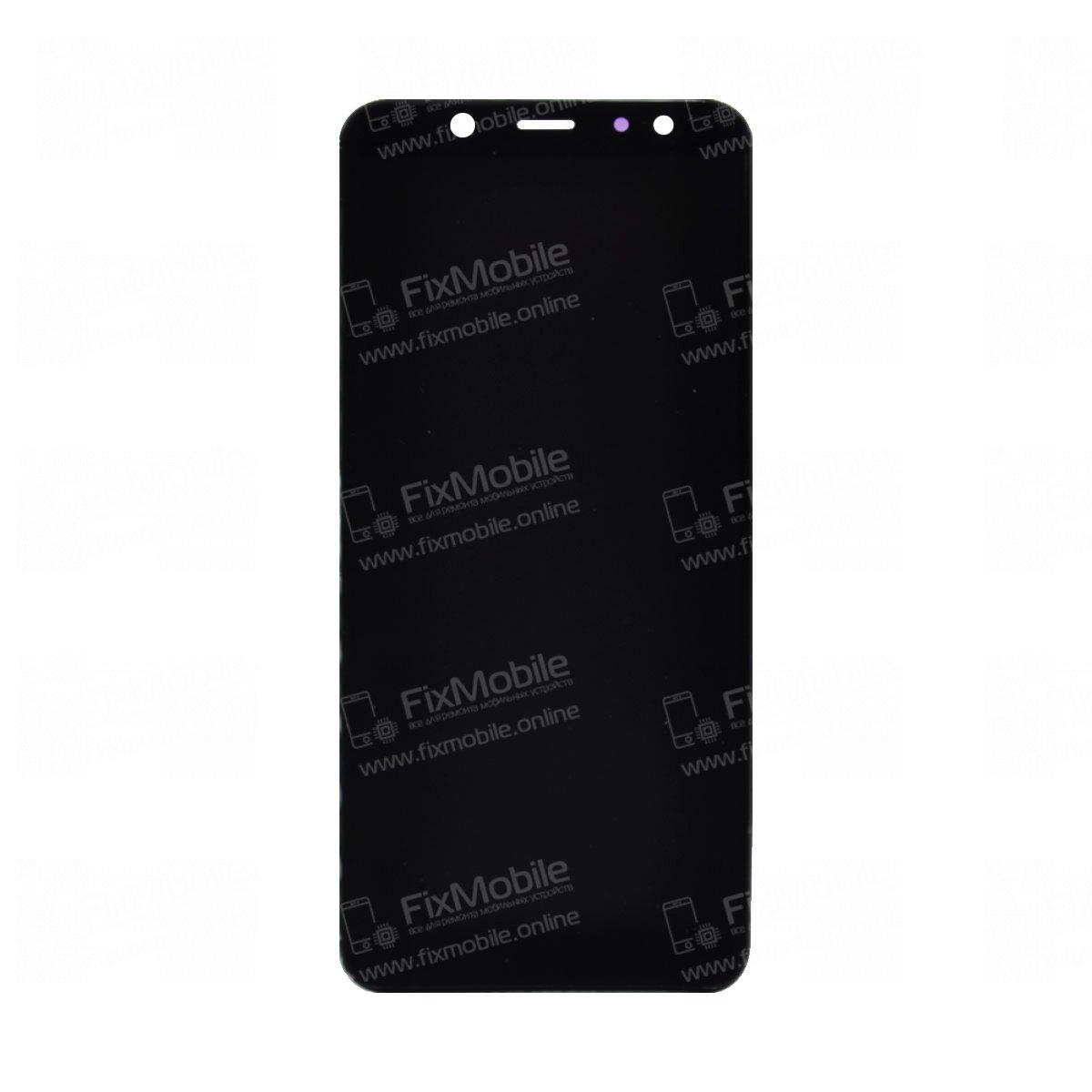 Дисплей с тачскрином для Samsung Galaxy A6 (2018) A600F (черный) TFT