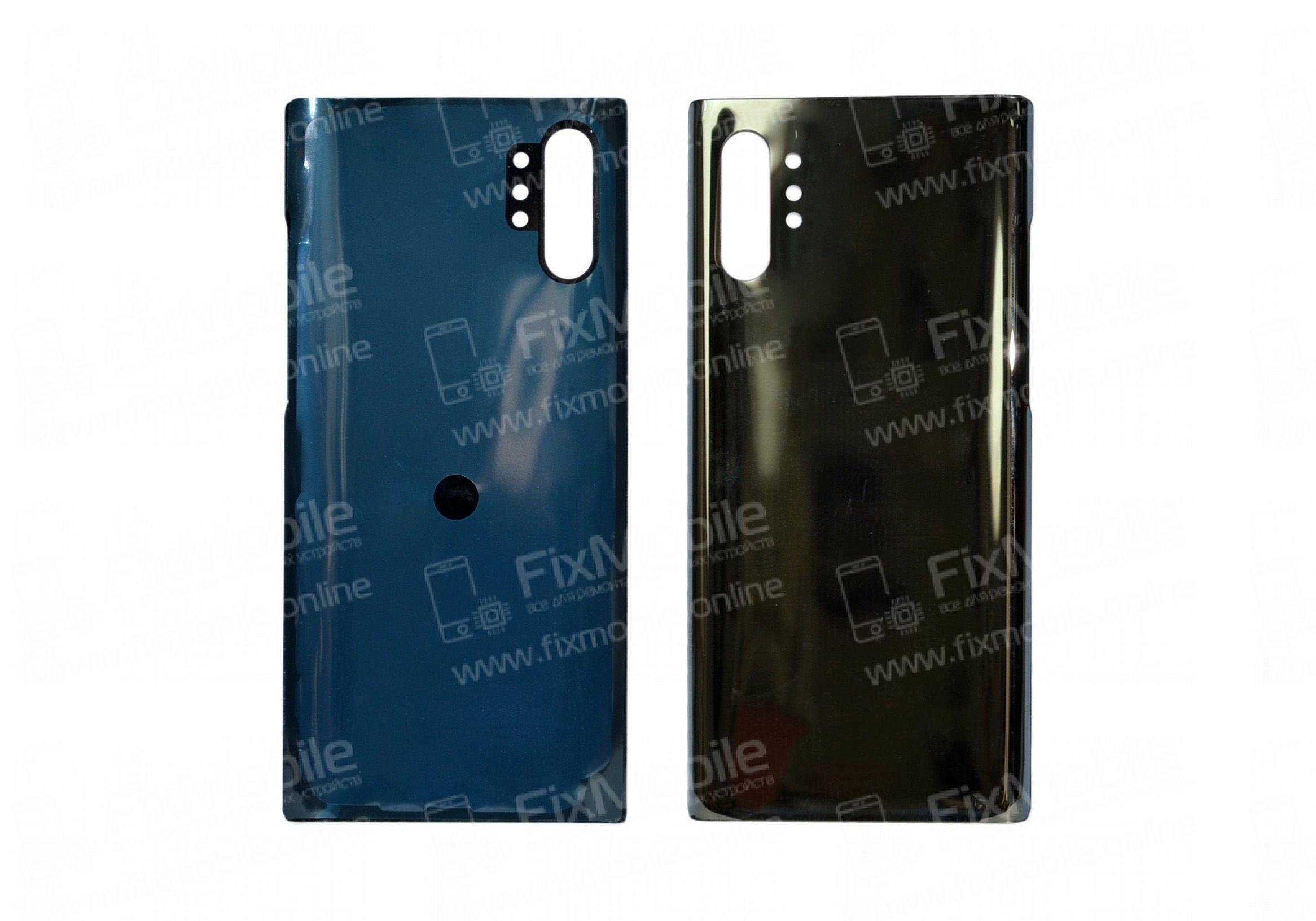 Задняя крышка для Samsung Galaxy Note 10 Plus (N975F) (черная)