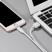 Превью Кабель Hoco X1 для Apple (USB - Lightning) белый (2 метра) — 3