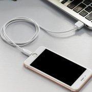 Превью Кабель Hoco X1 для Apple (USB - Lightning) белый (2 метра) — 2