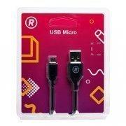 Кабель RockBox RC-M01 (USB - micro-USB) черный — 3