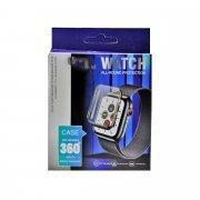 Защитное стекло для Apple Watch SE - 44 мм (УФ комплект с клеем и...