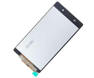 Дисплей для Sony D6503 в сборе с тачскрином черный