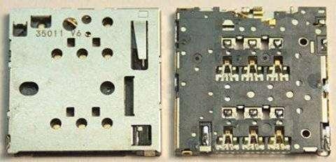 Коннектор SIM для Nokia Lumia 630
