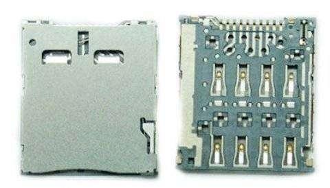 Коннектор SIM для Alcatel One Touch 6033X