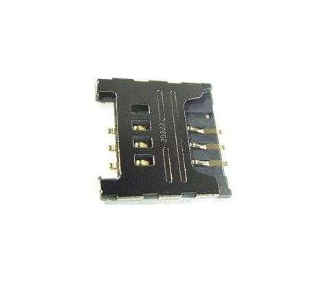 Коннектор SIM для Samsung C3752