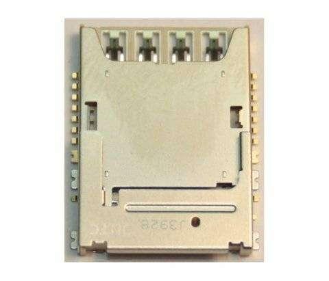 Коннектор SIM+MMC для Samsung Galaxy J1