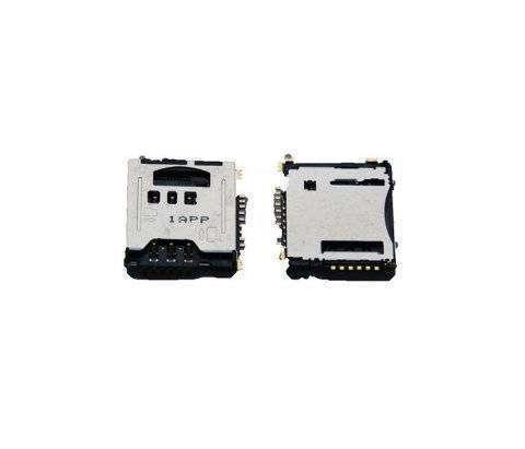 Коннектор SIM+MMC для Samsung S5230