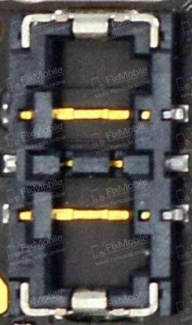 Коннектор аккумуляторной батареи для Apple iPhone 6 Plus
