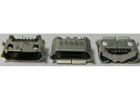 Системный разъем для HTC EVO 3D (microUSB)