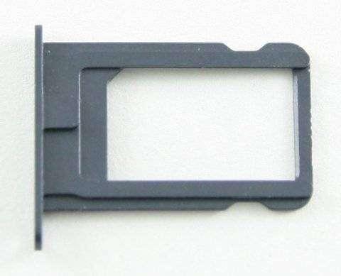 Контейнер SIM для Apple iPhone 5 черный