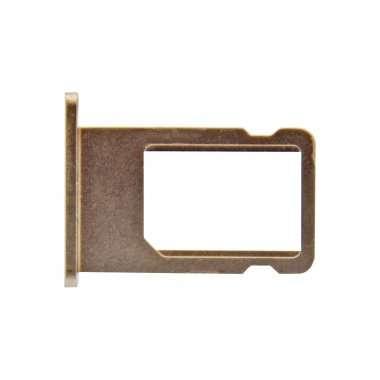 Контейнер SIM для Apple iPhone 5S золото