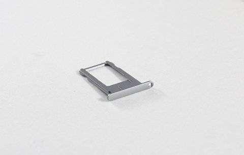 Контейнер SIM для Apple iPhone 6 Plus серый