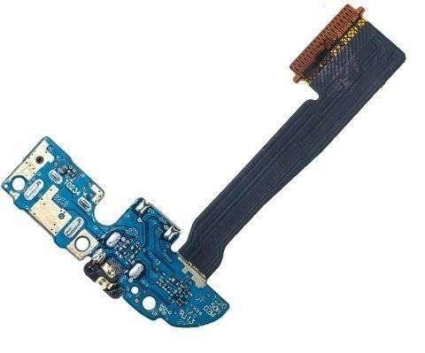 Шлейф для HTC One M8 на системный разъем/разъем гарнитуры/микрофо...