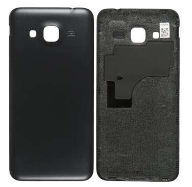 Задняя крышка для Samsung Galaxy J3 2016 черная