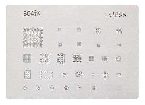 BGA трафарет для Samsung G900F
