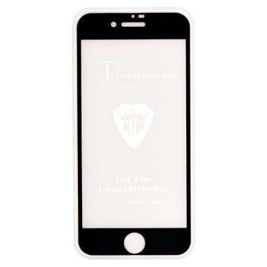 Защитное стекло для Apple iPhone 7 (полное покрытие 3D) Черное