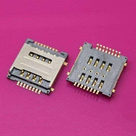 Коннектор SIM для Lenovo A690