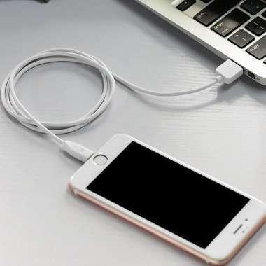 Кабель Hoco X1 для Apple (USB - Lightning) белый (2 метра) — 2